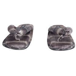 Pedro Garcia x Raquel Allegra Kaname Kimono Tie Dye Sandals - Purple
