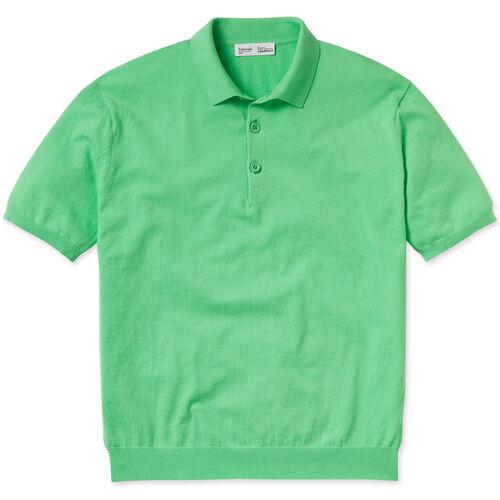 Entireworld Organic Cotton Short Sleeve Polo - Bright Green
