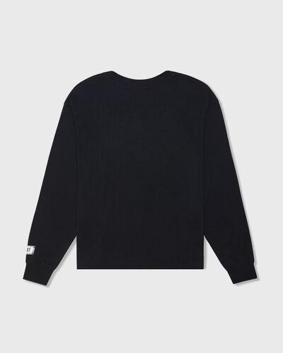 Baseball Long Sleeve Tee - Black