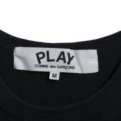 Comme Des Garcons Play Logo Tee