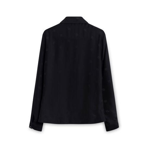 Coach Button Up Shirt-Black