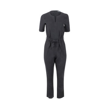 A.P.C. Belted Short Sleeve Jumpsuit