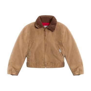 Carhartt Brown Canvas Jacket