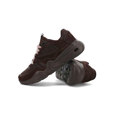 Pia Baroncini x K-Swiss CR-Terrati Sneaker in Chocolate Brown