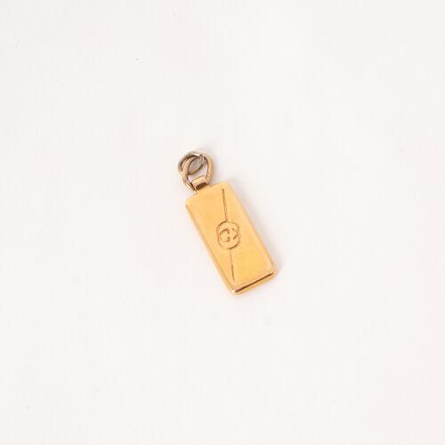 Gucci Rectangle Necklace Pendant