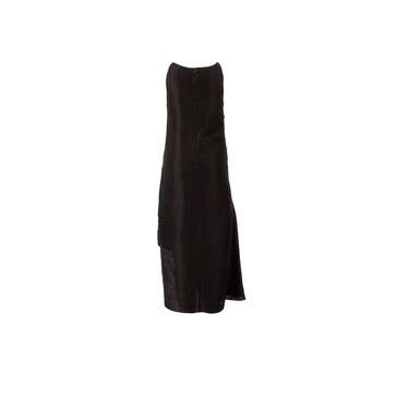 Azeeza Black Halter Midi Dress