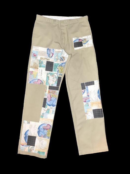 Axecents Map Pack Regular Fit Work Pants - Khaki