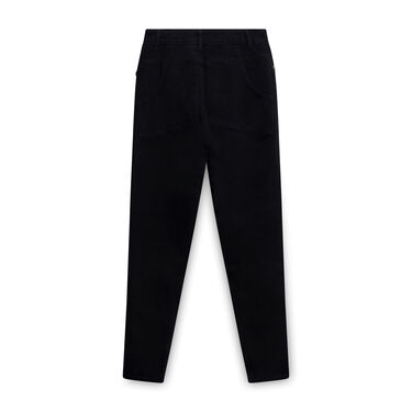 Eckhaus Latta Straight-legged Jeans - Black