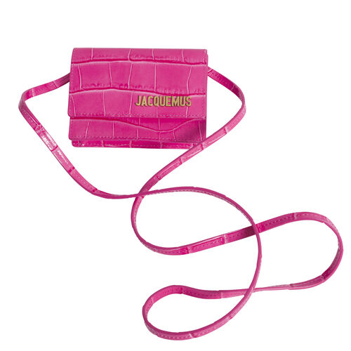 Jacquemus Riveria Bag - Hot Pink