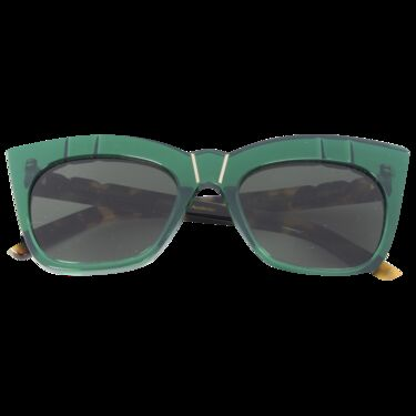 Pared Eyewear Cat Eye Sunglasses- Emerald
