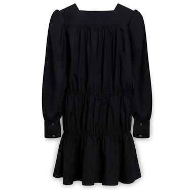 Ciao Lucia Alessandra Black Cotton Dress