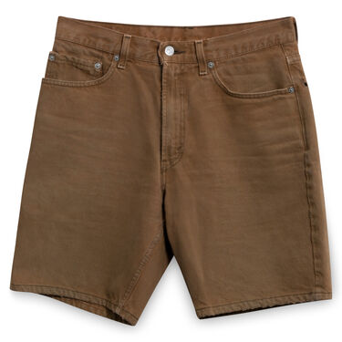 Levi's Vintage 550 Relaxed Fit Cut-Offs in Brown