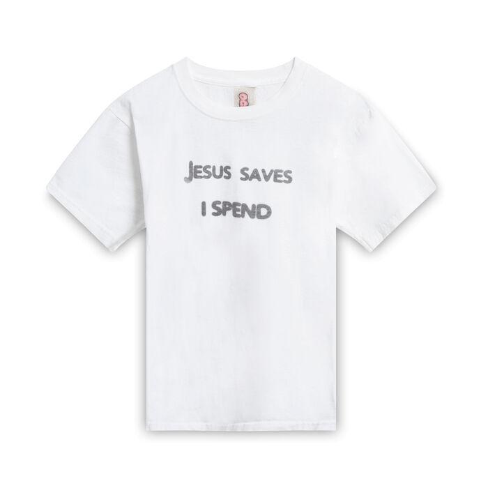 Jesus Saves Baby Tee