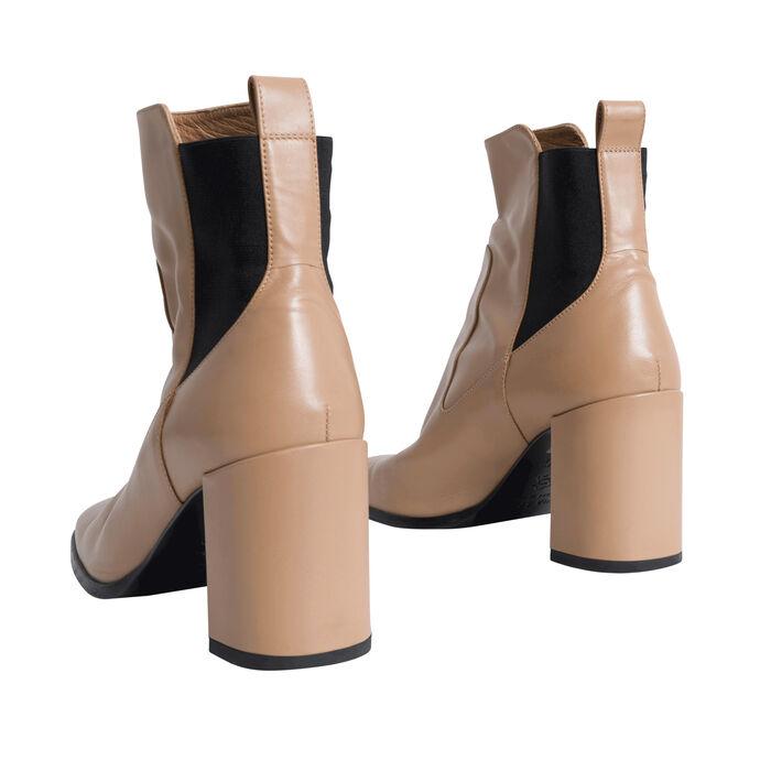 Via Spiga Tan Ankle Boot