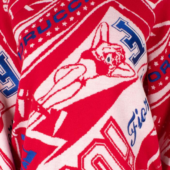Fiorucci Knit Flags Sweater