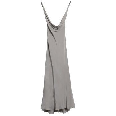 Azeeza Reeves Embellished Silk Sleeveless Gown