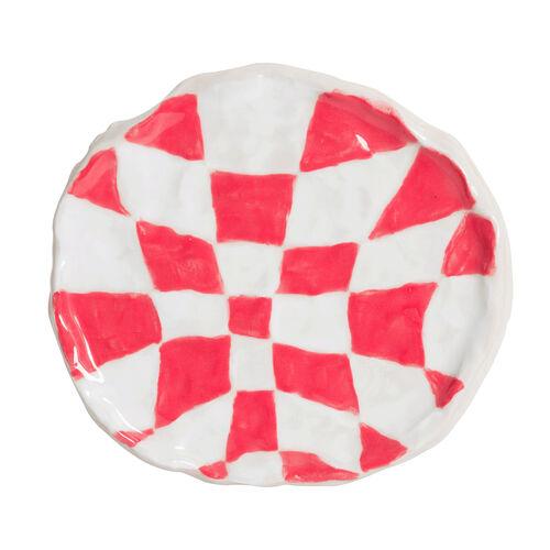 Psyche Checkerboard - Red