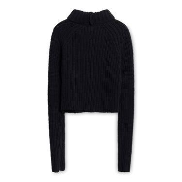 T by Alexander Wang Turtleneck Sweater - Black