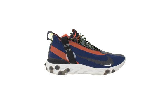 Nike Men's React Runner Mid WR ISPA Blue Void/Team Orange Synthetic