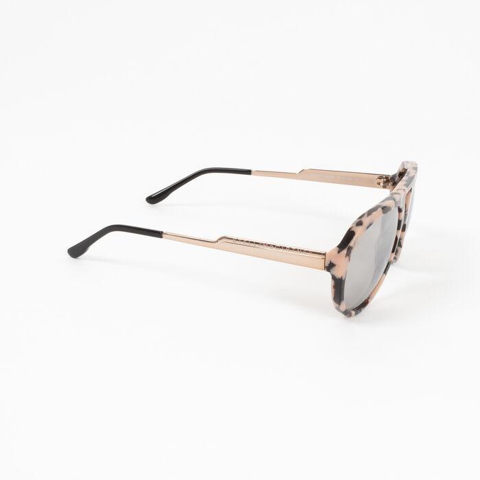 Stella McCartney Aviator Style Acetate Mirrored Sunglasses