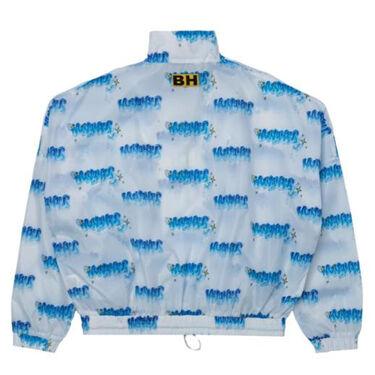 NUNAHAUS Printed Ripstop Nylon Track Jacket