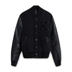 Kith x Golden Bear Varsity Bomber Jacket - Black
