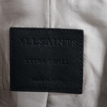 All Saints Oversized Suede Biker Jacket