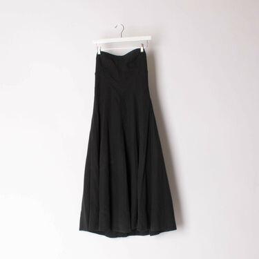 Black Ulla Johnson Halter Dress