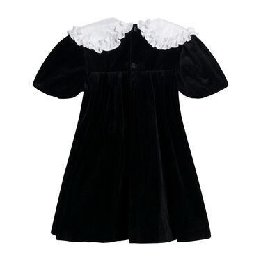 Vintage Winnie the Pooh Velvet Dress