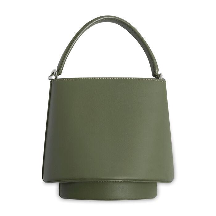 Mlyoue Lantern Bag - Olive Green