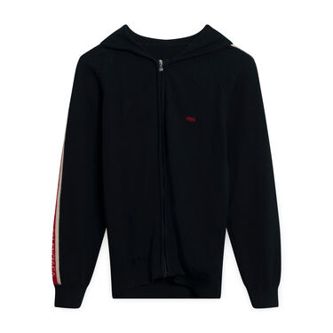 Balenciaga Black Knit Sweater