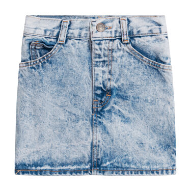 No Excuses Denim Skirt