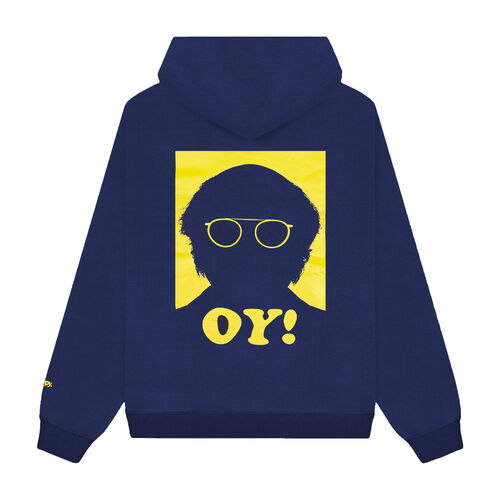 Madhappy x Curb Your Enthusiasm Hoodie-Navy