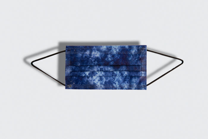 Tie Dye Mask Pack - Indigo