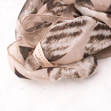 Vassilisa Tails Print Scarf