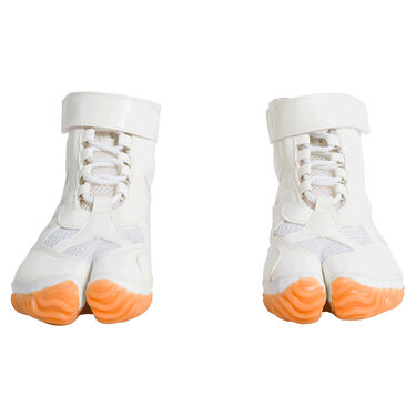 Tabi Sneakers - White/Orange