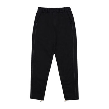 KROST x Barneys Piping Trousers in Black