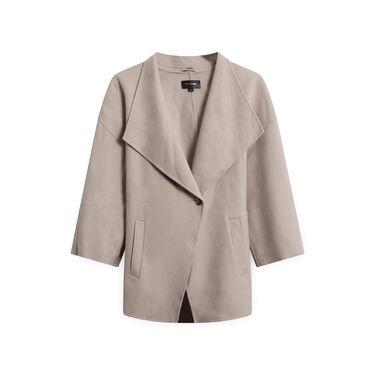 Mackage Wool Wrap Coat - Taupe