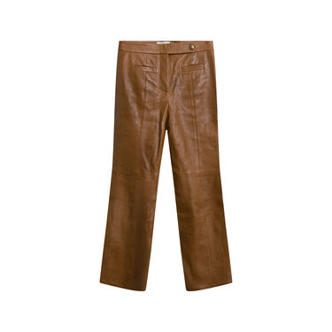 Vintage Coach Leather Trousers