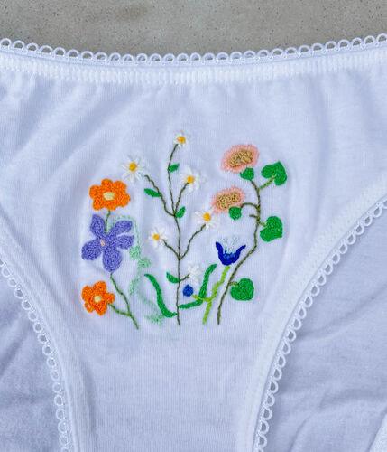 Poppy Undies- Flower Garden