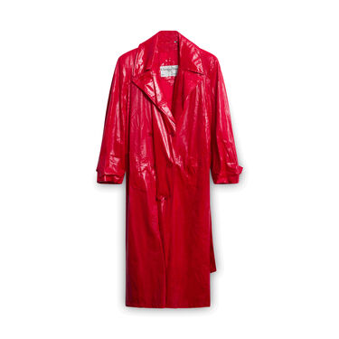 Christian Dior Red Coat