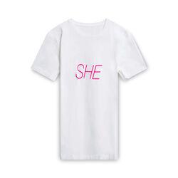 "Peter Saville x Paco Rabanne ""She"" T-Shirt - White"