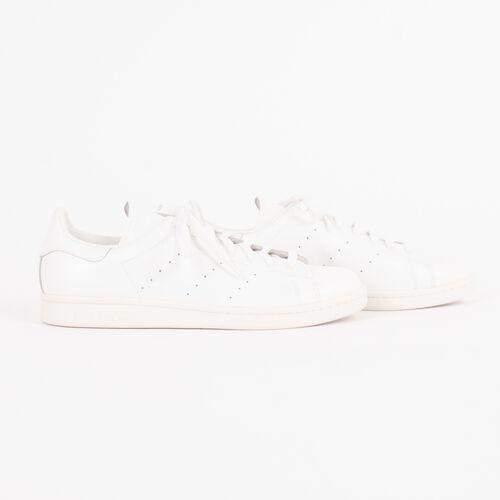 Adidas x White Mountaineering White Patent Stan Smith Sneakers