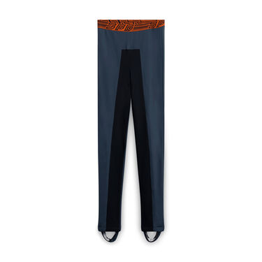 Jean Paul Gaultier Leggings with Removable Strap - Green
