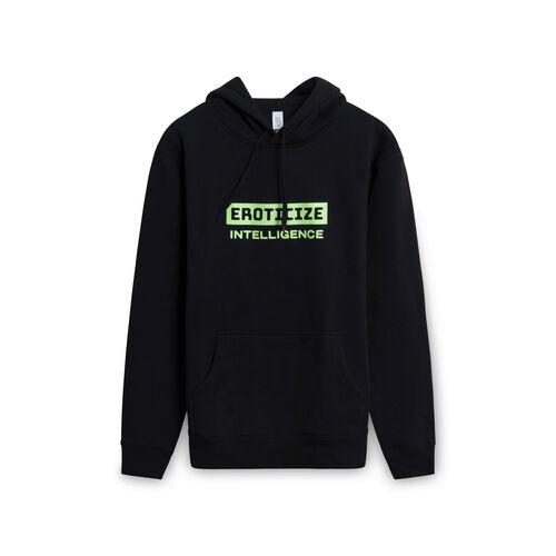 Eroticize Intelligence Sweatshirt - Black