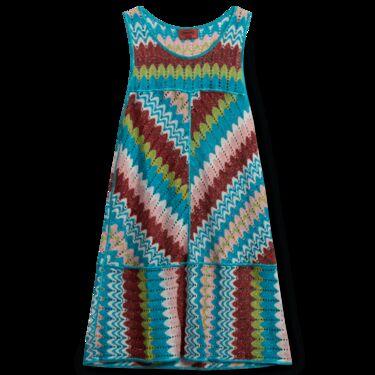 Vintage Missoni Mare Mini Dress Swim Cover Up