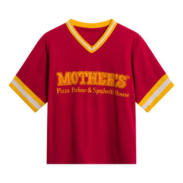 Vintage Mother's Pizza Parlour and Spaghetti House Jersey - Red