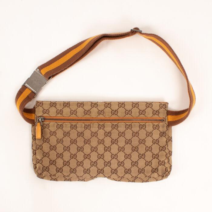 Gucci All Over Logo Belt Bag