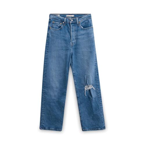 Levi's Ribcage Straight Jeans - Blue