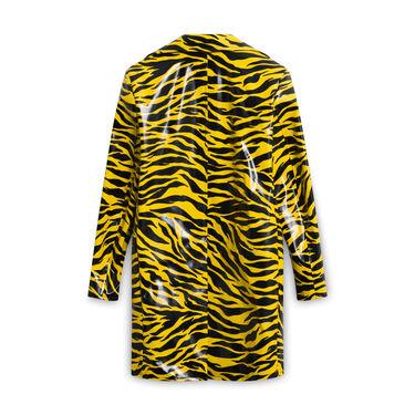 Kwaidan Editions Tiger Print Car Coat - Yellow/Black